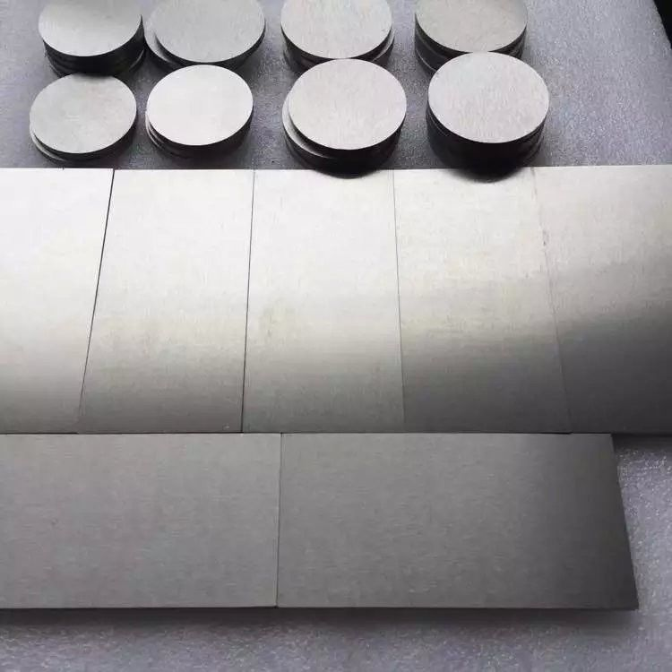 99.95% Tungsten Carbide Sheet For Milling Cutter With Good  Wear Resistance
